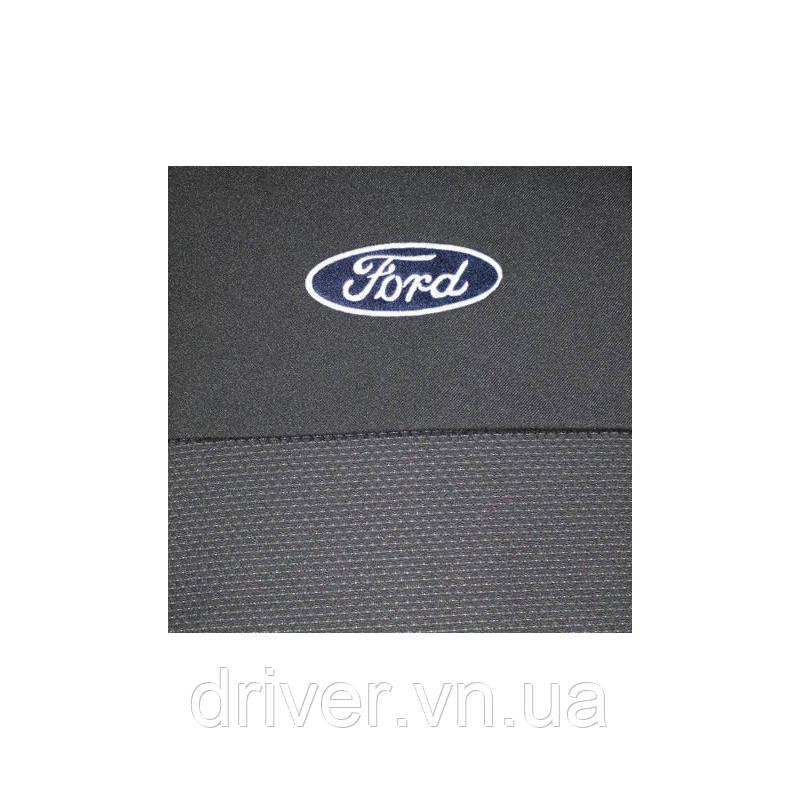 Чохли салону Ford Transit Custom (1+2) 2012+ Elegant Classic EUR