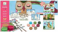 Художественный комплект рисование красками  Djeco Жизнь животных (DJ08657)