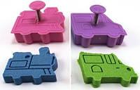 Формочки для песка и смеси для лепки Waba  Fun Транспорт (PF-01)