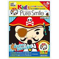 Детская косметическая маска для лица Pure  Smile Капитан Россо 25г (ARK01)
