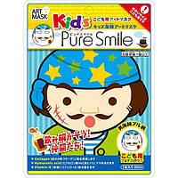 Детская косметическая маска для лица Pure  Smile Пираты Булл 25г (ARK03)