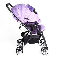 Легкая прогулочная коляска Aprica Luxuna цвет  пурпурный (4969220929989)