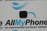 Пластик кнопки меню для мобильного телефона Apple iPhone 5 Black