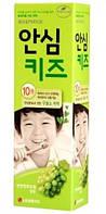 Детская безопасная зубная паста без фтора  LG Tech Safe kids - виноград, 80 гр (8801051056518)
