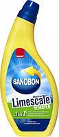 Жидкость Sano для мытья унитазов, удаляющая  известковый налет 750 мл (7290102990924)