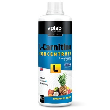 VPLab L-Carnitine Concentrate 120.000, 1000 ml вп лаб л карнитин