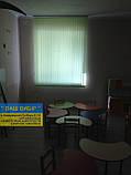 ЖАЛЮЗІ ВЕРТИКАЛЬНІ В ОФІС, КВАРТИРУ НА БАЛКОН з шириною ламелі 127мм тканина Line8035, фото 2