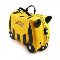 Детский дорожный чемоданчик TRUNKI BEE BERNARD  (TRU-B044)