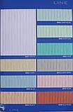 ЖАЛЮЗІ ВЕРТИКАЛЬНІ В ОФІС, КВАРТИРУ НА БАЛКОН з шириною ламелі 127мм тканина Line8035, фото 3