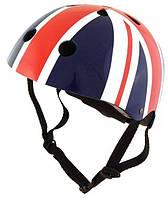 Шлем детский Kiddi Moto британский флаг, размер  S 48-53см (HEL-81-10)