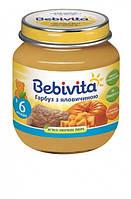 Мясо-овощное пюре Bebivita 'Говядина с тыквой'  100 гр.(9007253102728)