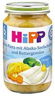 Рыбо- овощное пюре Овощи с морской рыбой  Hipp 190, гр (4062300208223)
