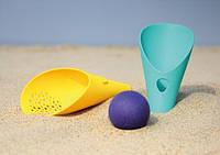 """Игровой набор для песка и снега """"CUPPI"""" Quut  совочки+мячик, цвет микс"""