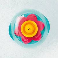 """Плавающая цветок для ванны """"LILI"""" Quut цвет  зеленый+розовый+желтый"""