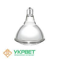 Лампа инфракрасная для обогрева, прозрачная, 175 Вт, Е27