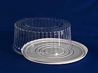 Упаковка пластиковая для большого  торта  заказного диаметр 31 см.