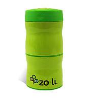 Термос для еды 2 отделения THIS & THAT Green ZOLI  (BF13TTG001)