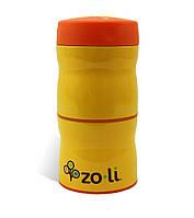 Термос для еды 2 отделения THIS & THAT Orange ZOLI  (BF13TTO001)