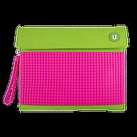 Клатч для планшета Upixel-Зелено-малиновый  (WY-B010K)