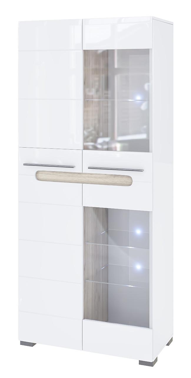 Шкаф 2Д Ск Бьянко Світ Меблів (Белый глянец)