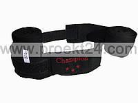 Бинты боксерские черные 2шт 3м