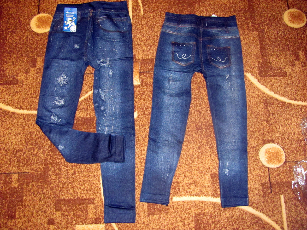 Детские лосины под джинс МАХРА размер L (4-5 лет), фото 1