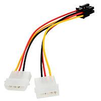 Переходник питания IDE 4pin - PCI-E 6pin