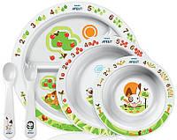 Набор для кормления Philips Avent Детская посуда  (SCF716/00)