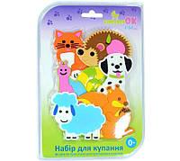 Набор игрушек KinderenOk для купания на присосках  в виде животных (61113)