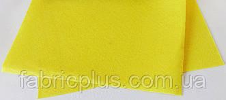 Фетр  для  рукоделия (1мм/ 30*20см) желтый