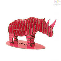 Конструктор Kawada D-torso носорог красный