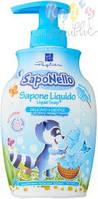 Детское жидкое мыло PaglieriSaponello, сладкая  вата, 300 мл (8001280013584)