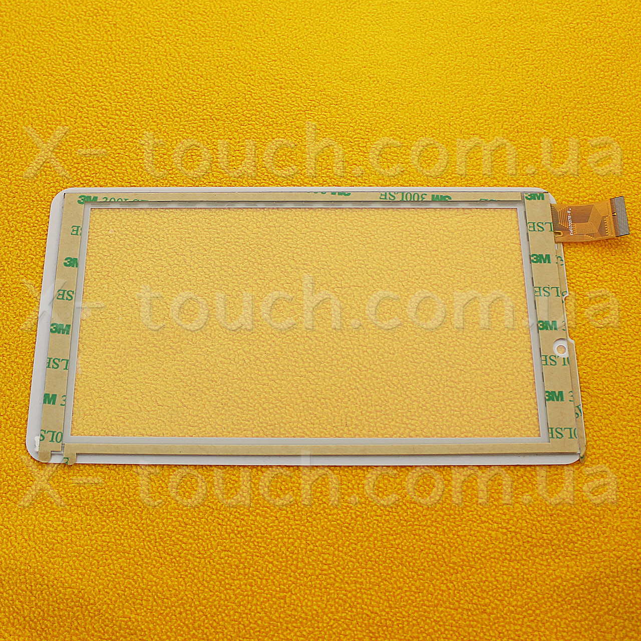 YJ123FPC-V0 cенсор, тачскрин 7,0 дюймов, цвет белый