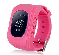 Smart Baby Watch Q50 LCD Pink розовые с GPS трекером Оригинал Гарантия!