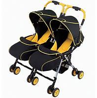 Прогулочная коляска Aprica Nelco Bed Twins для двойни  (4969220953472)