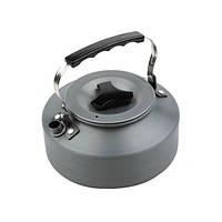 Туристический чайник из анодированного алюминия объемом 1.1 л. Надежный чайник. Отличное качество.  Код: КГ133