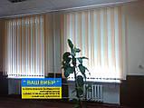 ЖАЛЮЗИ ВЕРТИКАЛЬНЫЕ В ОФИС, КВАРТИРУ НА БАЛКОН с шириной ламели 127мм ткань Оrestes O-444; Оrestes O-140, фото 6