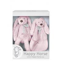 Подарочный набор Happy Horse Крольчонок Риччи,  цвет розовый