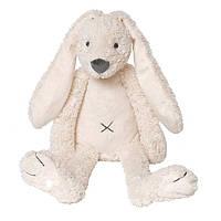 Мягкая игрушка Happy Horse крольчонок Риччи,  цвет айвори, большой