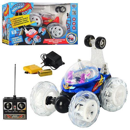 Детская машина трюковая на радиоуправлении