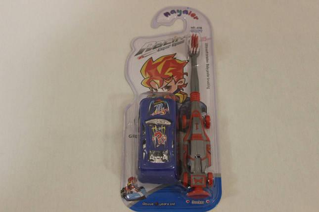 Детская зубная щётка + машинка для мальчиков, фото 2