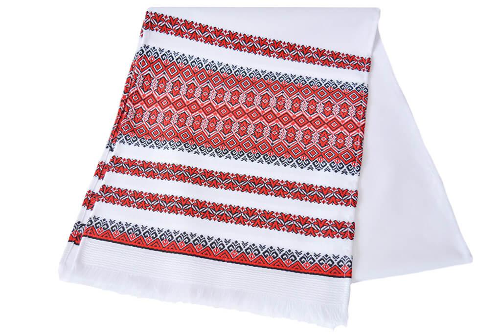 Тканый свадебный рушник «Аншлаг»