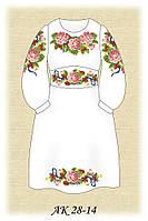 Заготовка платья для девочки для вышивания АК 28-14