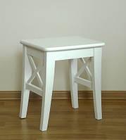 Табурет белый кухонный стул без спинки