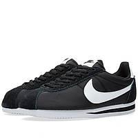 Оригинальные  кроссовки Nike Classic Cortez Nylon OG Black & White