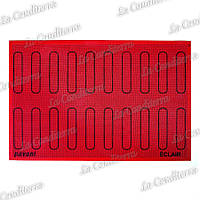 Силиконовый коврик для выпечки эклеров PAVONI ECL20