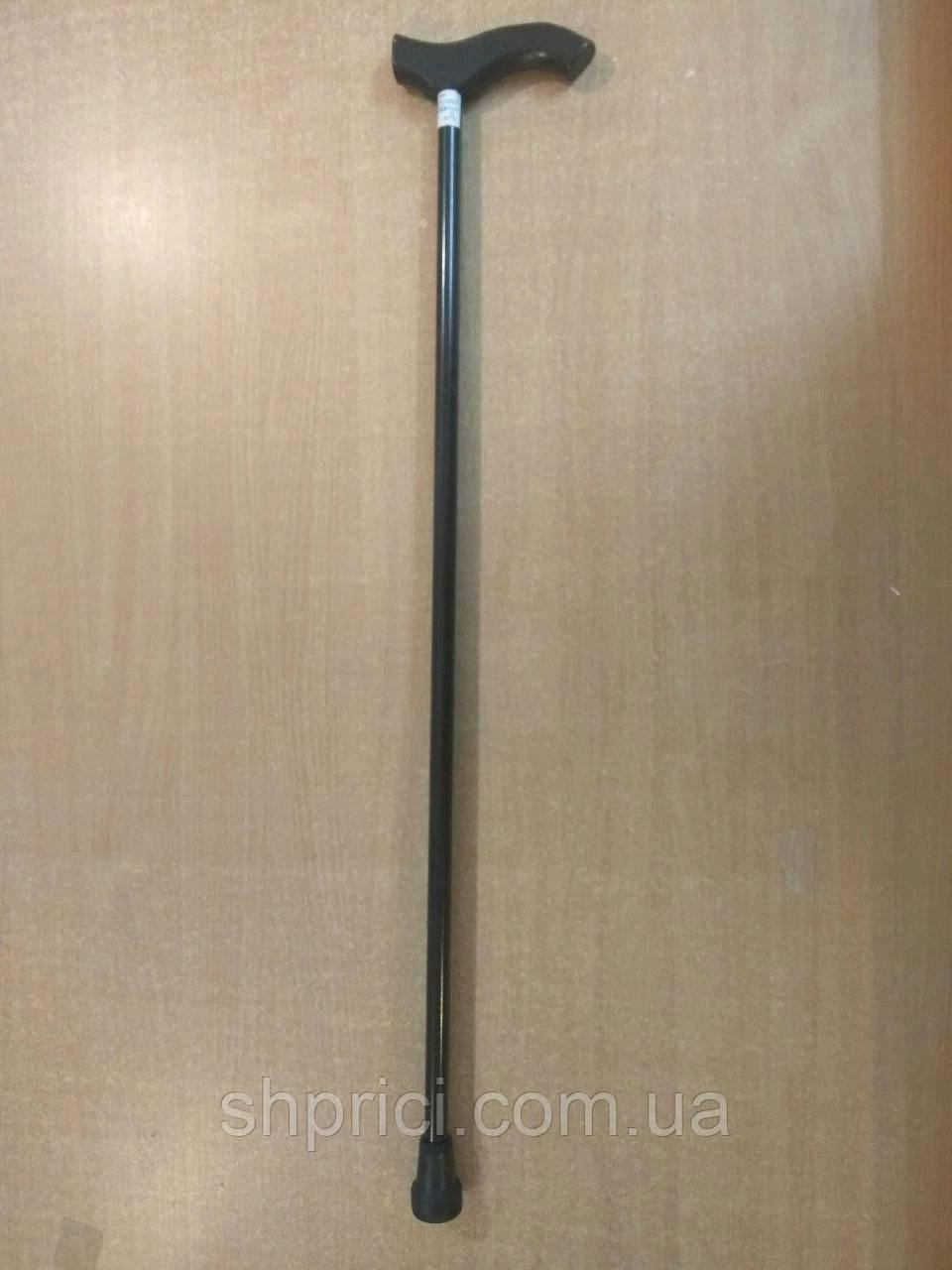 Трость опорная металлическая с деревянной ручкой/ Рыпор