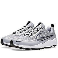 Оригинальные  кроссовки Nike Air Zoom Spiridon W Wolf Grey & Metallic Silver