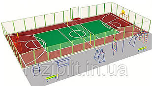 """Строительство спортивной площадки """"под ключ"""""""