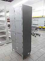 Камера хранения товара б у, Камера хранения для сумок бу, шкаф ячеечный металлический б/у